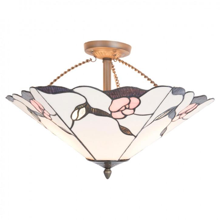 Tiffany Deckenlampe Sevilla Ø 53x33 cm
