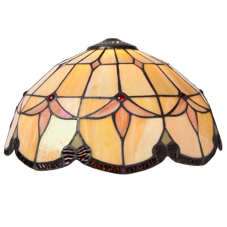 Lampenschirm Tiffany Maastricht Ø 42x22 cm