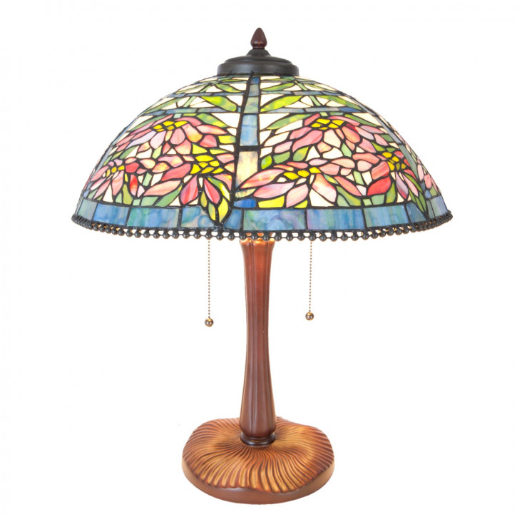 Tischlampe Tiffany Ø 47x58 cm E27/max 3x60W
