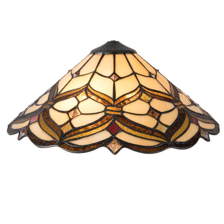 Deckenleuchte Tiffany Ø 40x28 cm E14/max 2x40W