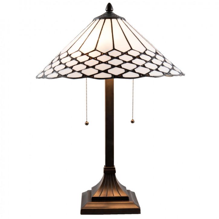 Tischlampe Tiffany Ø 41x58 cm E27/max 2x60W
