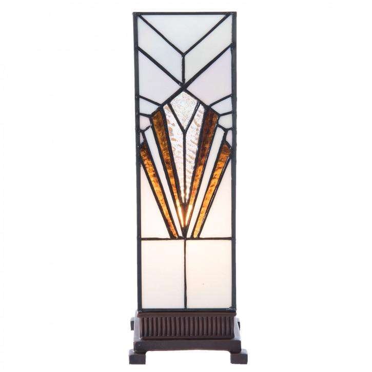 Tiffany Tischlampe Galway 12x12x35 cm E14/1x25 W
