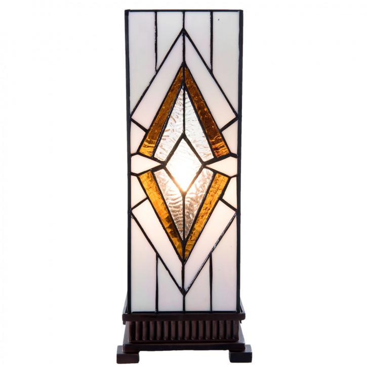 Tiffany Tischlampe Genua 17x17x44 cm E14/1x W