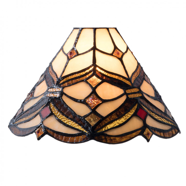 Tiffany Lampenschirm Kopenhagen Ø 25x15 cm