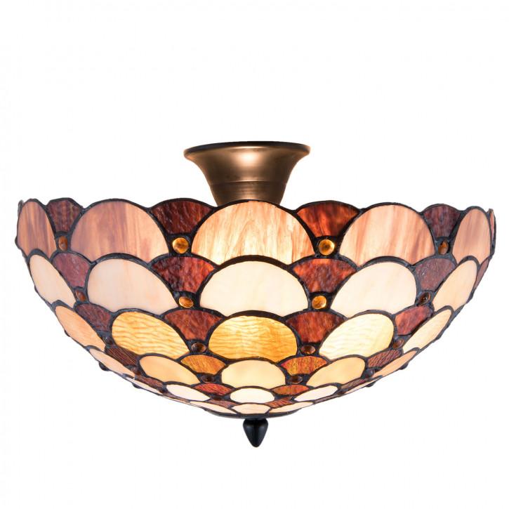 Tiffany Deckenlampe Londonderry Ø 40x24 cm 2x E14 max, 40w