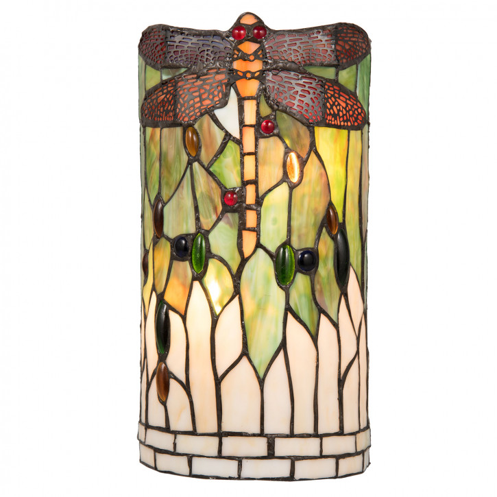 Tiffany Wandlampe Linz 19x19x35 cm 2x E14/40W