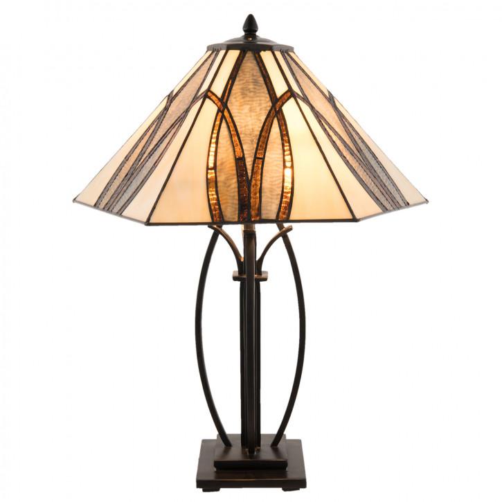 Tischlampe Tiffany 51x44x66 cm E27/max 2x60W