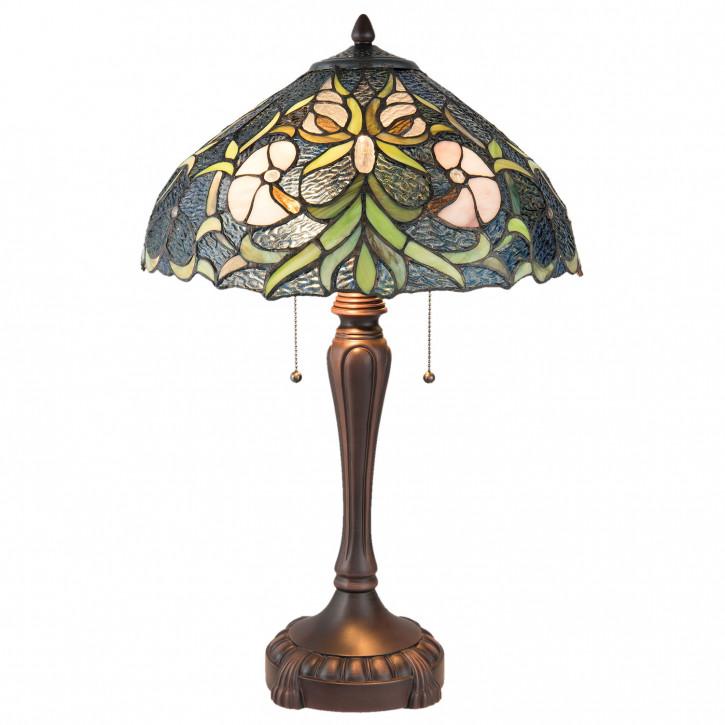 Tischlampe Tiffany Ø 40x61 cm E27/max 2x60W