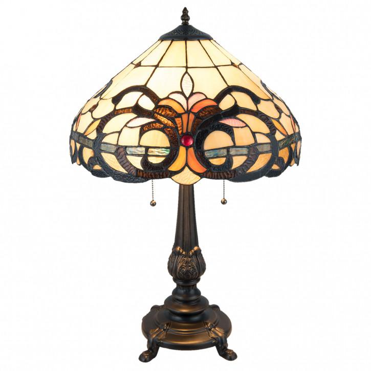 Tischlampe Tiffany Ø 40x63 cm E27/max 2x60W