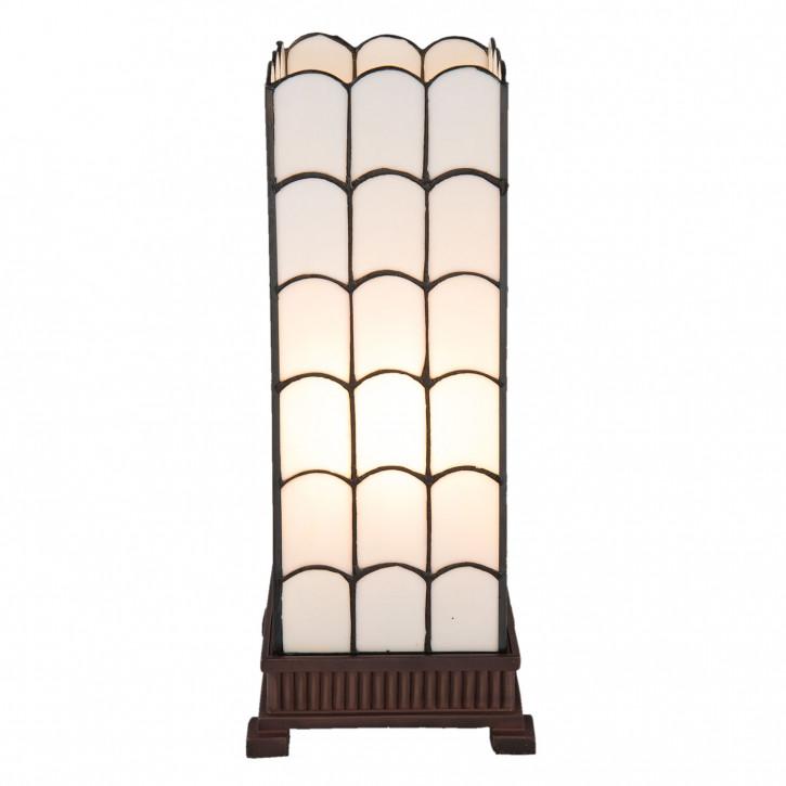 Tischlampe Tiffany 17x17x45 cm E27/max 1x40W