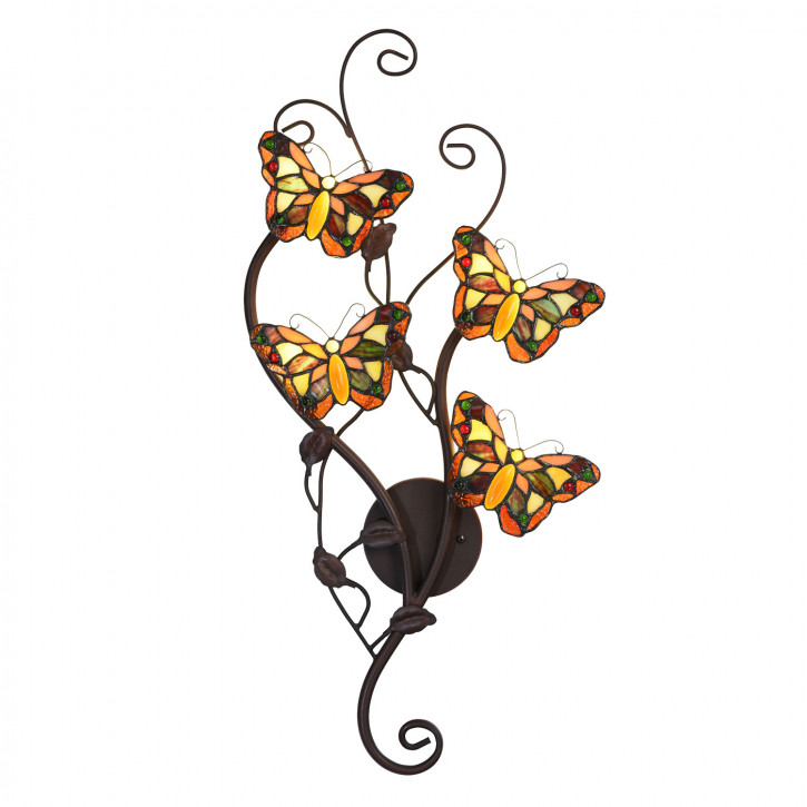 Wandlampe Tiffany 32x68 cm G4 LED /max 4x2W