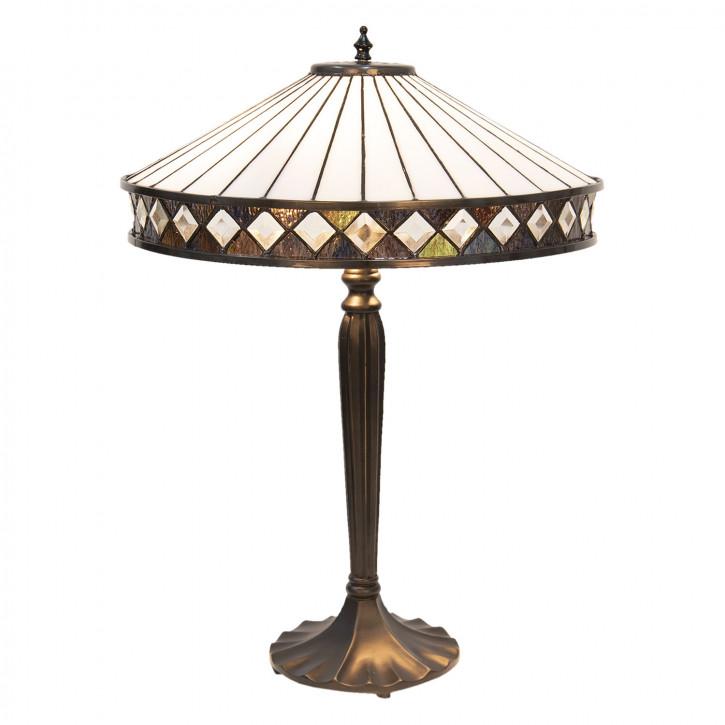 Tischlampe Tiffany Ø 41x59 cm E27/max 2x60W
