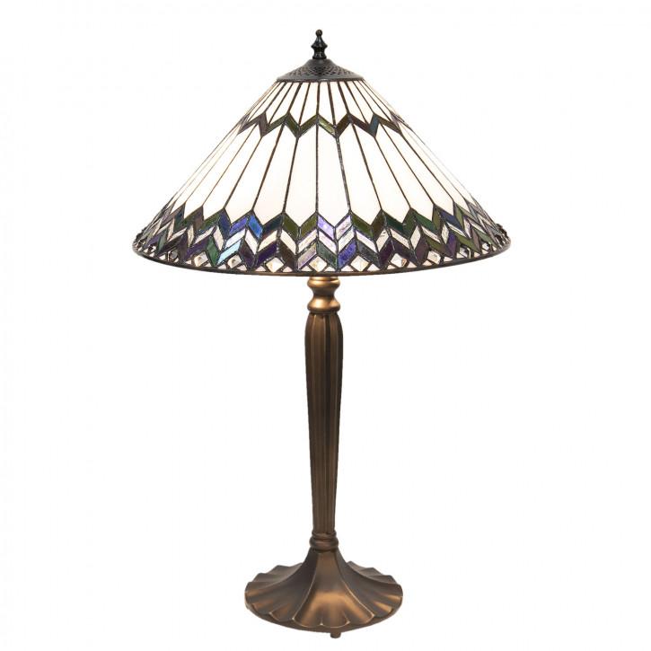 Tischlampe Tiffany Ø 40x62 cm E27/max 2x60W
