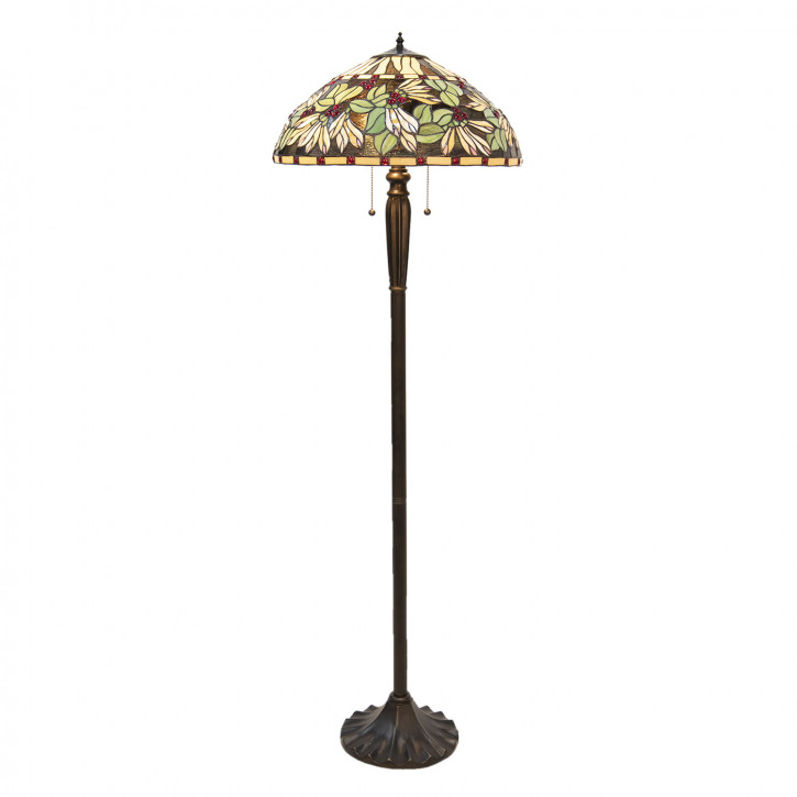 Stehlampe Tiffany Ø 51x157 cm E27/max 2x60W