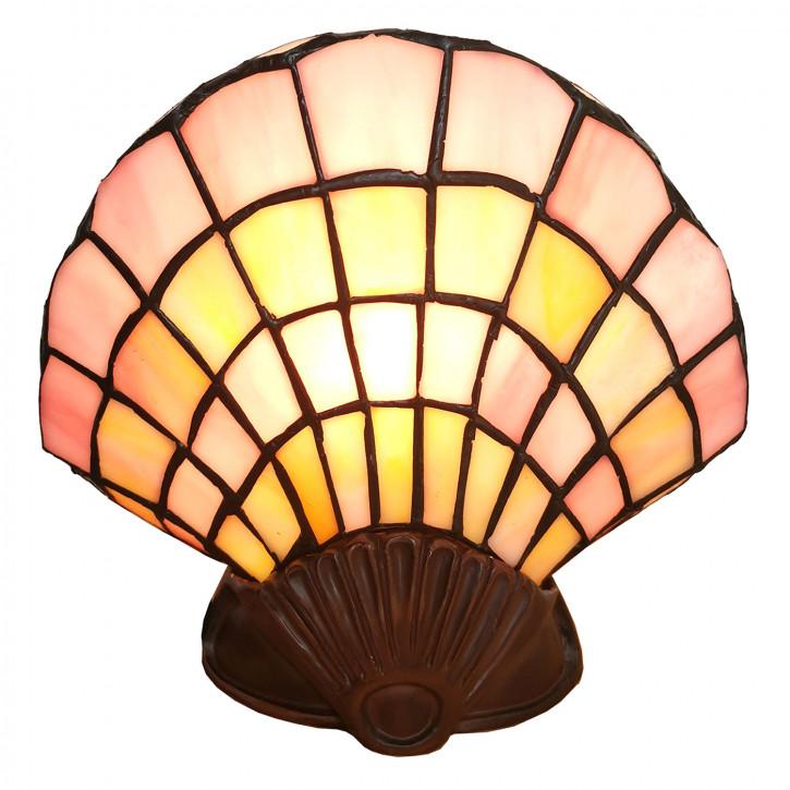 Wandlampe Tiffany Muschel 25x20 cm E14/max 1x25W