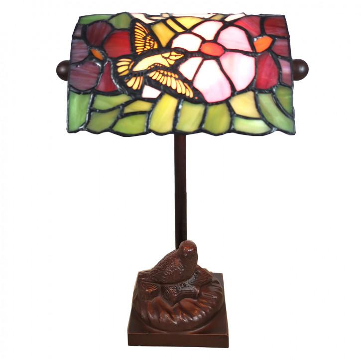 Tischlampe Tiffany 15x15x33 cm E14/max 1x25W