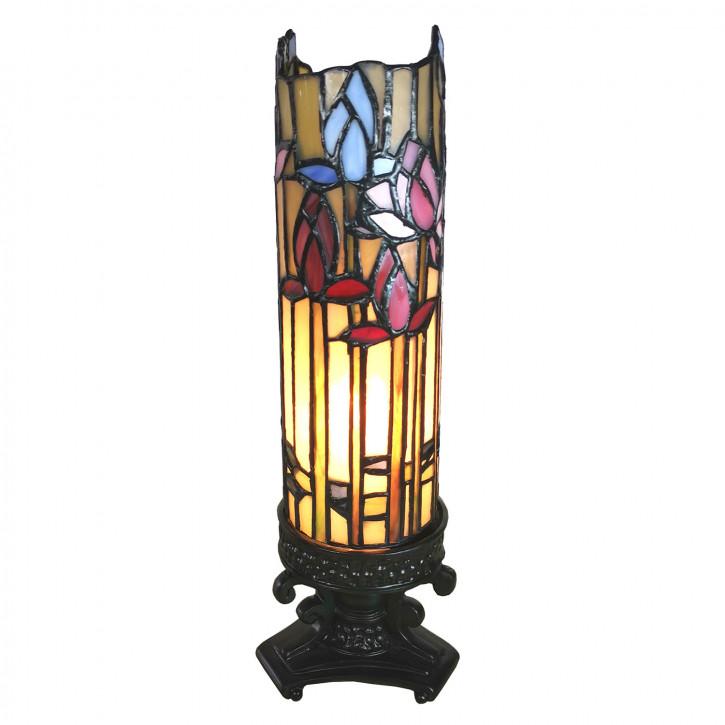 Tischlampe Tiffany 10x10x33 cm E14/max 1x25W
