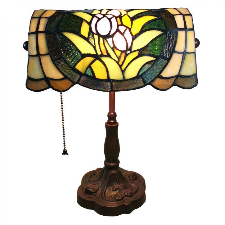 Schreibtischlampe Tiffany 25x25x42 cm E27/max 1x60W