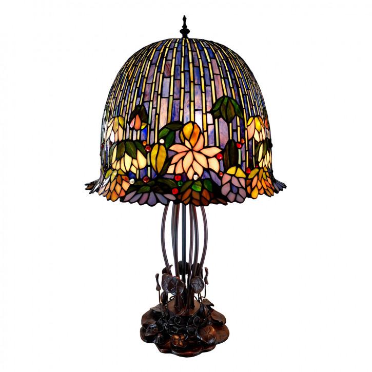 Tischlampe Tiffany 45x45x75 cm E27/max 3x60W