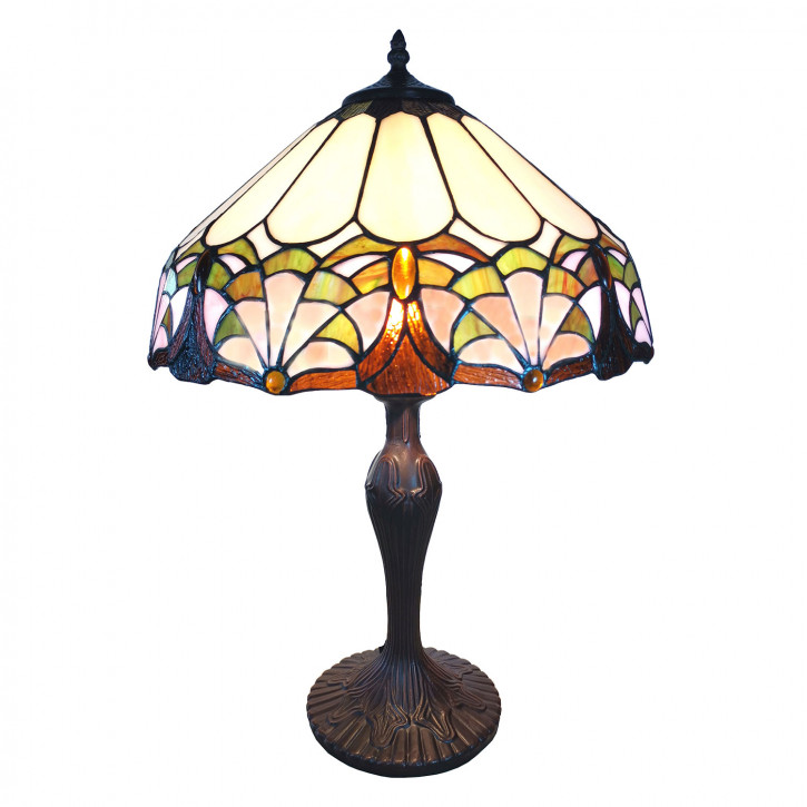 Tischlampe Tiffany Ø 41x59 cm E27/max 1x60W