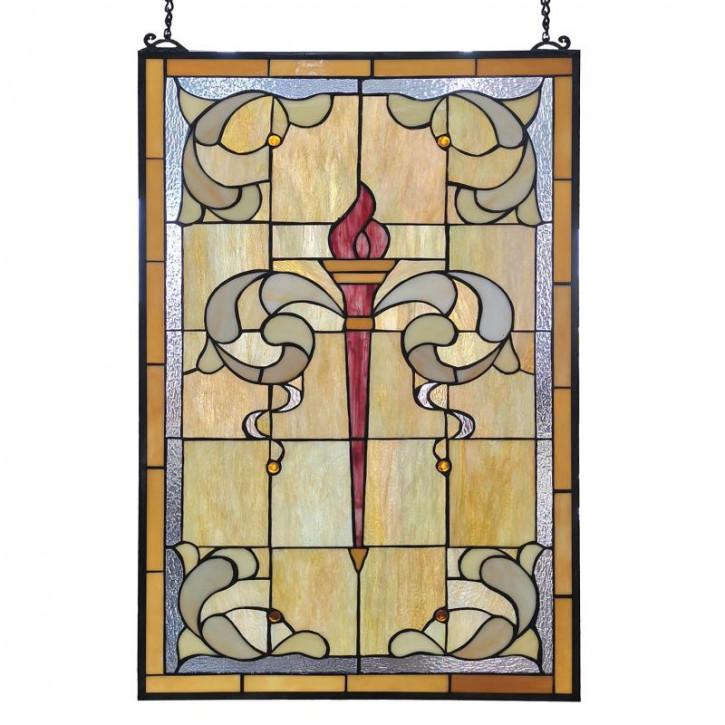 Tiffany-Fensterbild 50x100 cm