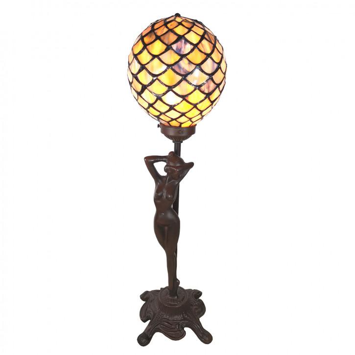 Tischlampe Tiffany 21x21x51 cm E14/max 1x25W
