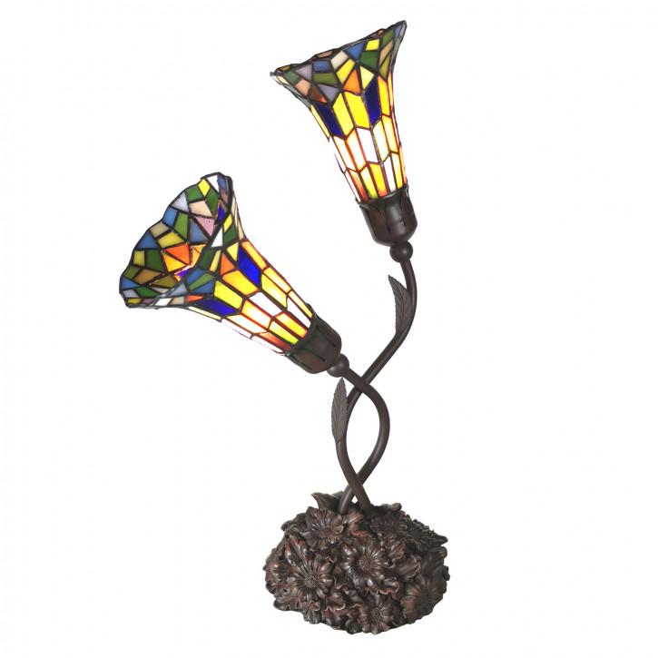 Tischlampe Tiffany 46x28x63 cm E14/max 2x25W