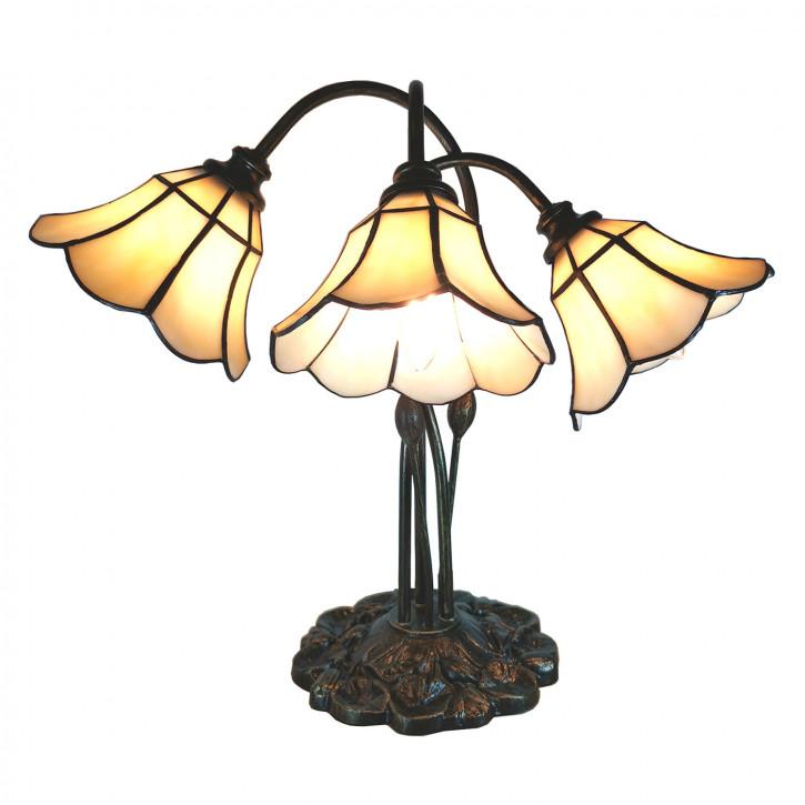 Tischlampe Tiffany 46x28x63 cm E14/max 3x25W