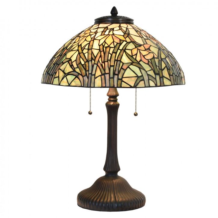 Tischlampe Tiffany Ø 40x60 cm E27/max 3x60W