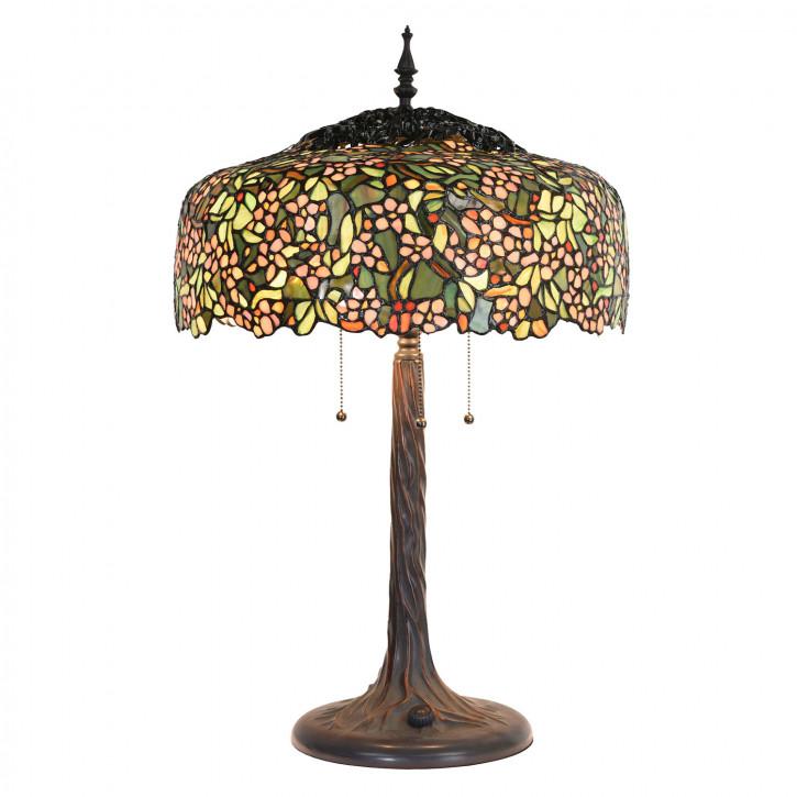 Tischlampe Tiffany Ø 46x70 cm E27/max 3x60W