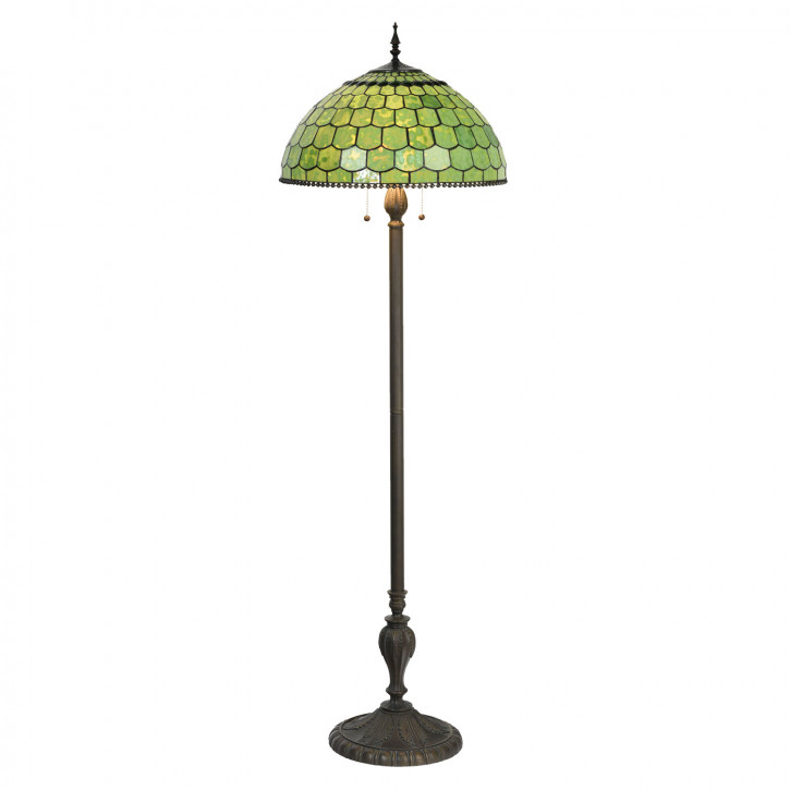 Stehlampe Tiffany Ø 51x165 cm E27/max 3x60W