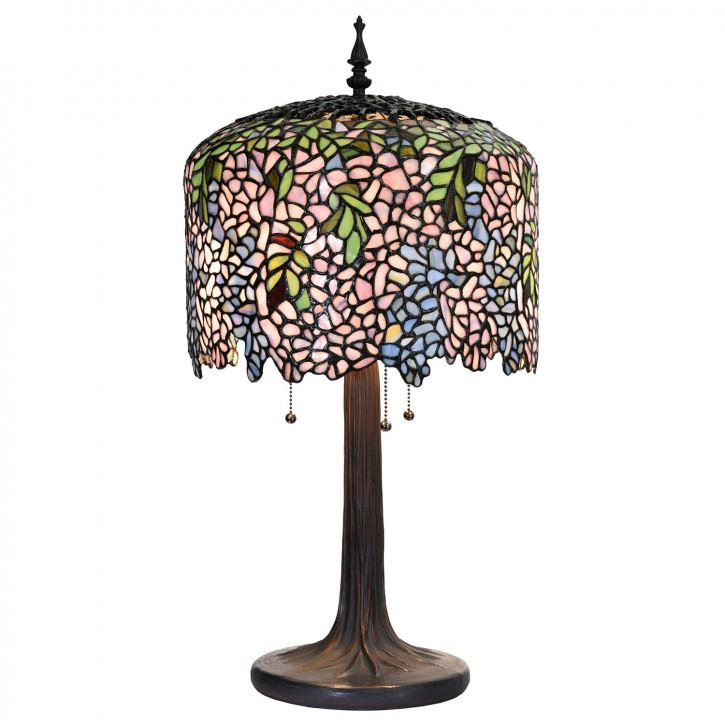 Tischlampe Tiffany Ø 35 cm E27/max 3x60W