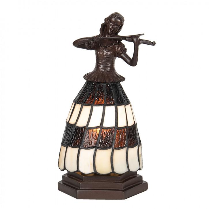Tischlampe Tiffany 13x13x26 cm E14/max 1x25W