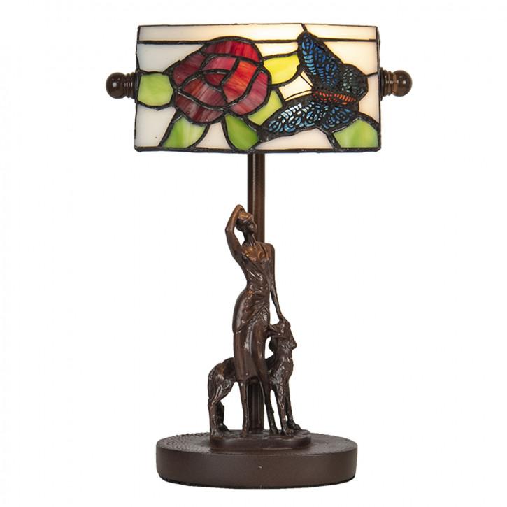 Schreibtischlampe Tiffany 17x15x28 cm E14/max 1x25W