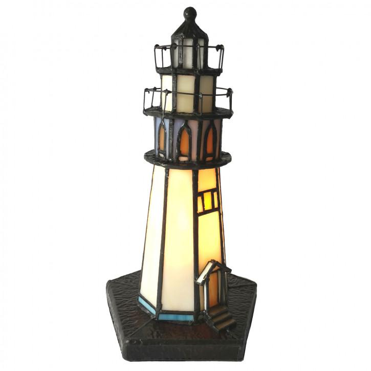 Tischlampe Tiffany Ø 12x28 cm E14/max 1x25W