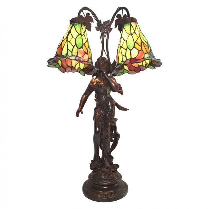 Tischlampe Tiffany 50x28x84 cm E27/max 2x60W
