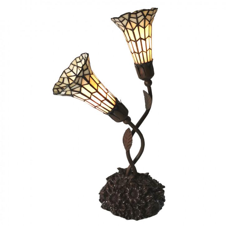 Tischlampe Tiffany 34x25x58 cm E14/max 2x25W