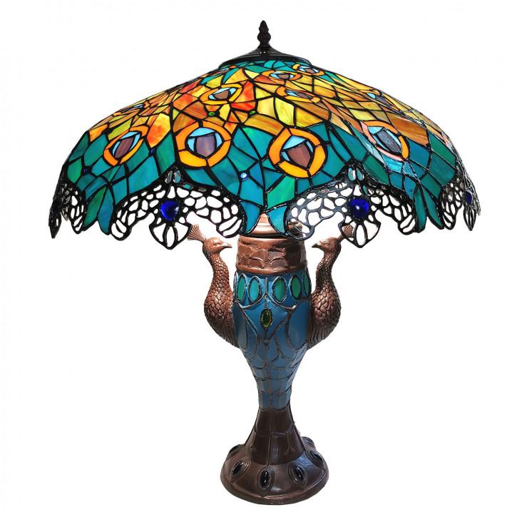 Tischlampe Tiffany Ø 56x68 cm»