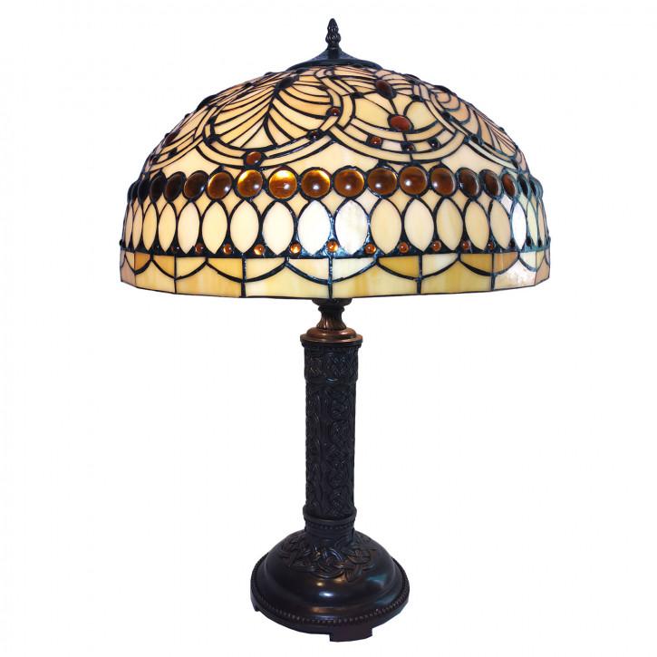 Tischlampe Tiffany Ø 46x62 cm E27/max 2x60W