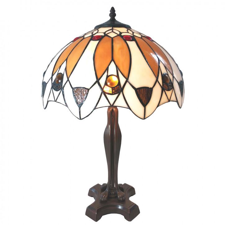 Tischlampe Tiffany Ø 41x57 cm E27/max 2x60W