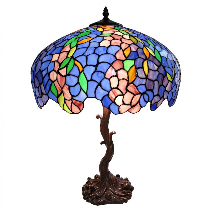 Tischlampe Tiffany Ø 43x61 cm E27/max 2x60W