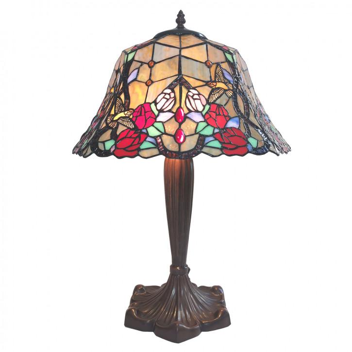 Tischlampe Tiffany Ø 42x58 cm E27/max 2x60W