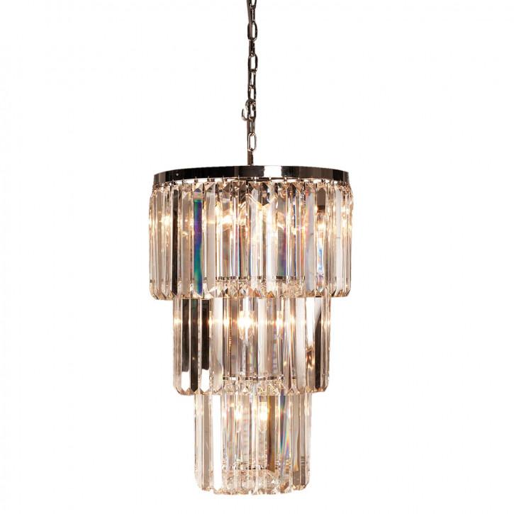 Kristalllampe 11 lichts Ø47x74 cm 11x E14/40w