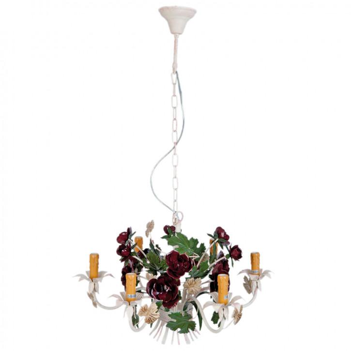 Deckenlampe Lampe Blumen bunt