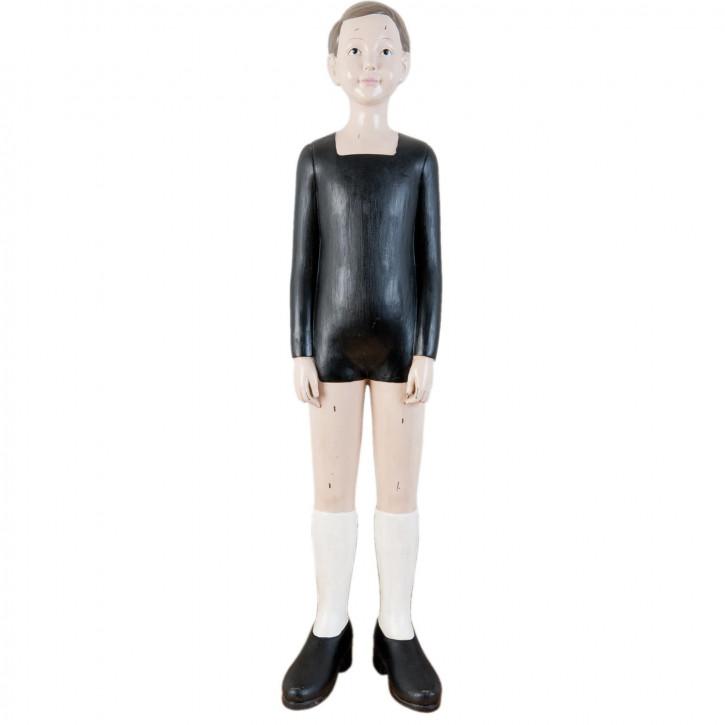 Figur Junge ca. 21 x 18 x 92 cm