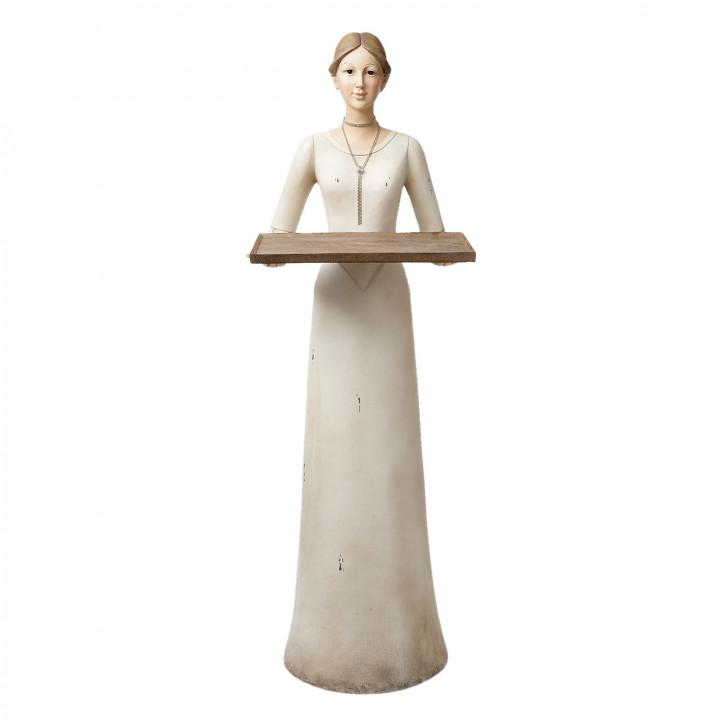 Dekofigur Frau 38x32x102 cm