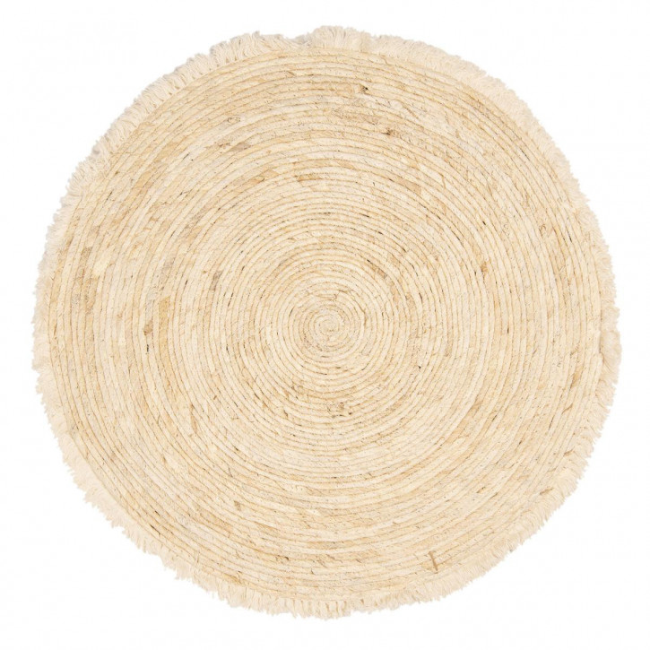 Bodenmatte mit Quasten Ø 70 cm