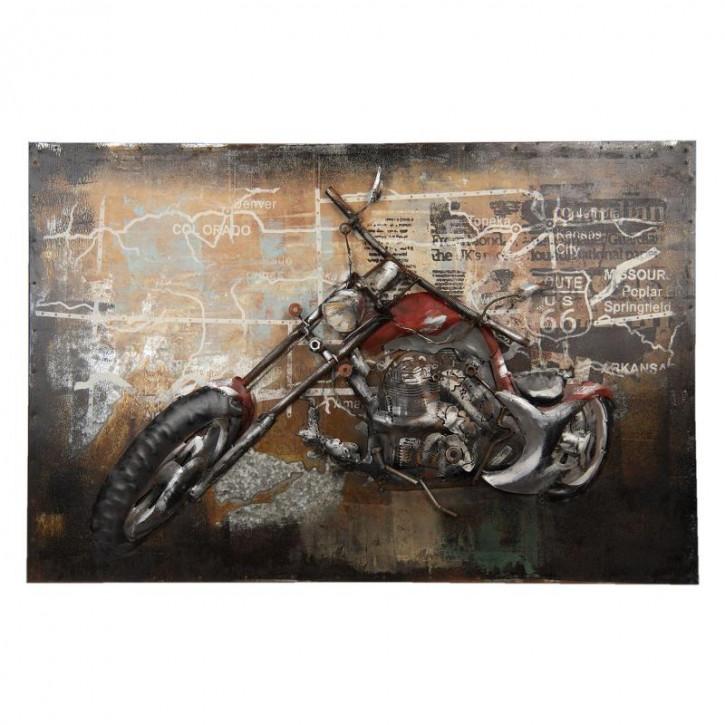 Wanddekoration 90x6x60 cm
