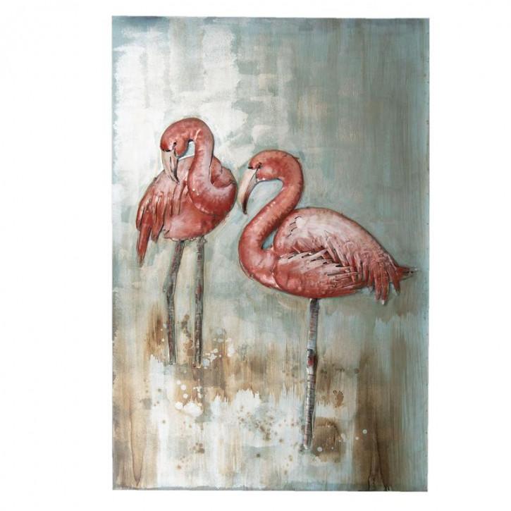 Wand Dekoration Vögel 90x60x3.5 cm