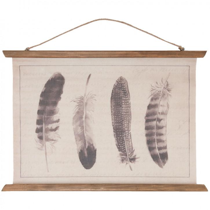 Wandkarte 60x3x70 cm